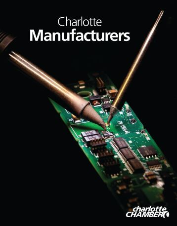 Manufacturers Directory - Charlotte Chamber of Commerce