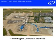 Connec ng the Carolinas to the World - Charlotte Chamber of ...