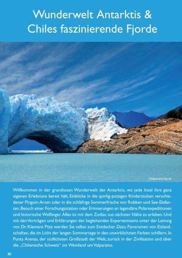 Wunderwelt Antarktis & Chiles faszinierende Fjorde – hier hält jede ...