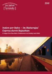 Indien per Bahn – Im Maharajas' Express durch Rajasthan