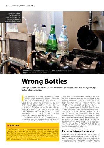 Wrong Bottles - TURCK