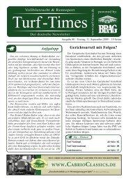Turf-International - Turf-Times Deutschland