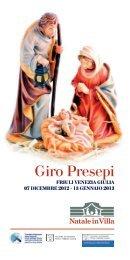 Giro presepi Friuli Venezia Giulia - Diocesi di Concordia-Pordenone