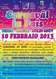 Carnaval in Pais_Volantino A5 - Turismo Friuli Venezia Giulia