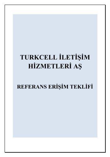 TURKCELL İLETİŞİM HİZMETLERİ AŞ