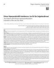 Pdf - Turkish Journal of Endocrinology and Metabolism