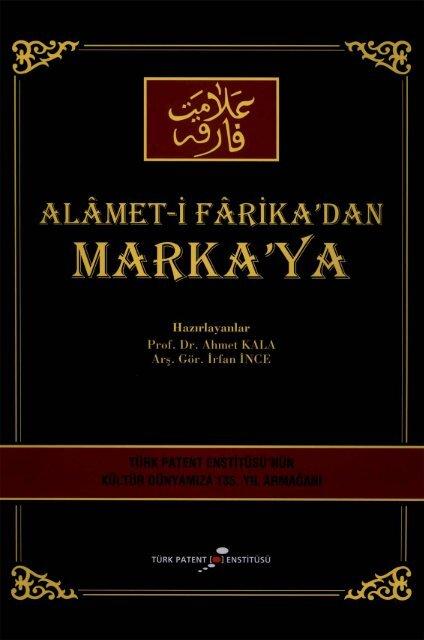Alamet I Farika Dan Marka Ya Turk Patent Enstitusu