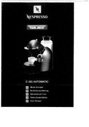 Nespressomaschine C 350 Automatic - Turmix