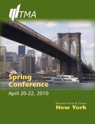 Spring Conference - Turnaround Management Association