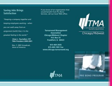 Saving Jobs Brings Satisfaction - Turnaround Management ...