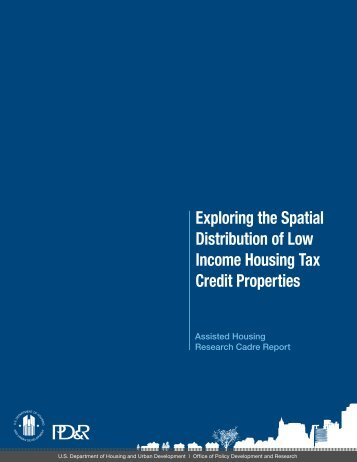 Exploring the Spatial Distribution of Low Income Housing Tax Credit ...