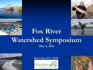 Fox River Watershed - Kane DuPage Soil & Water Conservation ...