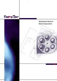Multihearth Electron Beam Evaporators - Ferrotec