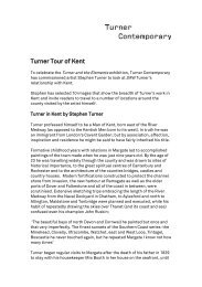 Turner Tours in Kent - Turner Contemporary