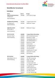 Westfälischer Turnerbund - Das ist Turnfest