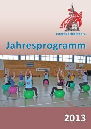 Jahresprogramm 2013 - Turngau Feldberg
