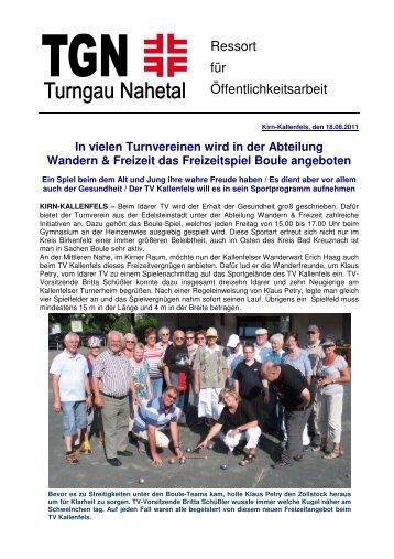 Bericht - Turngau Nahetal