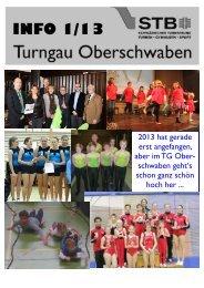 Info 1-2013 - Turngau Oberschwaben