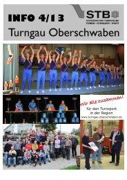 Info 4-2013 - Turngau Oberschwaben