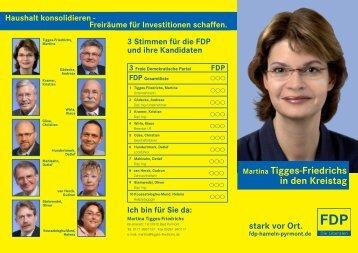 Haushalt konsolidieren - FDP Niedersachsen