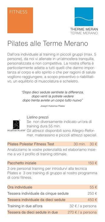 Pilates alle Terme Merano