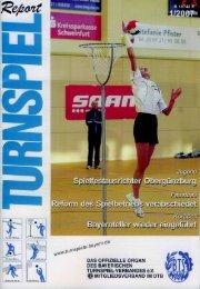 01/2007 - Bayerischer Turnspiel- Verband