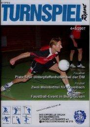 04-05/2007 - Bayerischer Turnspiel- Verband