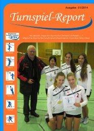 Ausgabe 01/2014 - Bayerischer Turnspiel- Verband