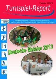 Ausgabe 09/2013 - Bayerischer Turnspiel- Verband