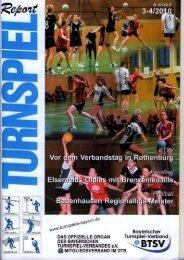 03-04/2010 - Bayerischer Turnspiel- Verband