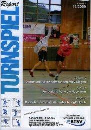 11/2009 - Bayerischer Turnspiel- Verband