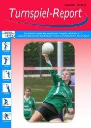 Ausgabe 06/2013 - Bayerischer Turnspiel- Verband