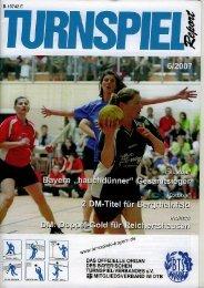 06/2007 - Bayerischer Turnspiel- Verband
