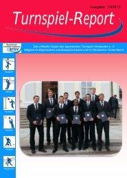 Ausgabe 10/2013 - Bayerischer Turnspiel- Verband