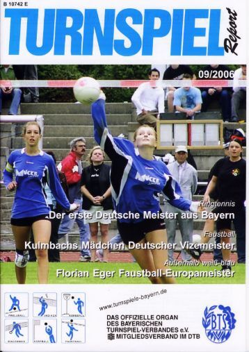 09/2006 - Bayerischer Turnspiel- Verband