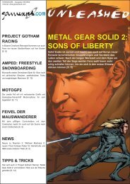 METAL GEAR SOLID 2: SONS OF LIBERTY METAL ... - Gameswelt