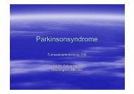Parkinsonsyndrome - TurnusDoc