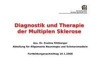 Diagnostik und Therapie der Multiplen Sklerose - TurnusDoc