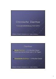 Chronische Diarrhoe - TurnusDoc
