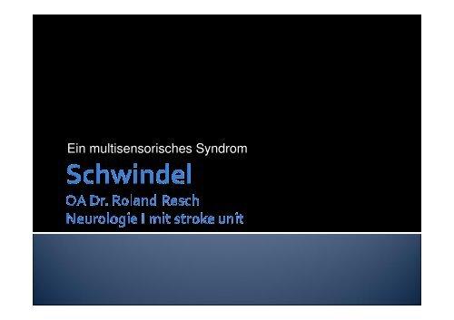 Schwindel September 2007, PP2003 - TurnusDoc