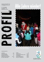 Profil - Nr. 134 (Dezember 2012) - beim Turnverein Reisen!