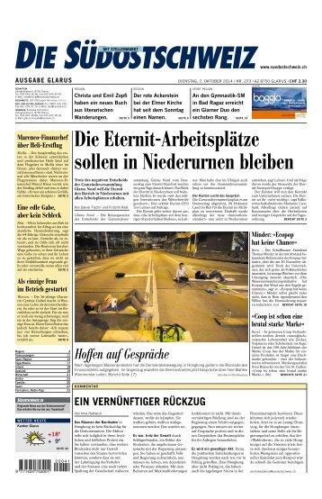 Die Eternit-Arbeitsplätze sollen in Niederurnen bleiben