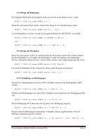 Übersicht der wichtigsten MySQL-Befehle - Page 4