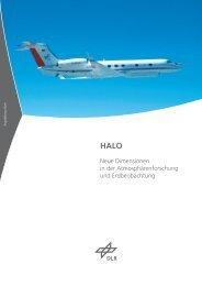 HALO - Neue Dimensionen in der Atmosphärenforschung und Erdbeobachtung