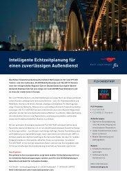 Intelligente Echtzeitplanung für einen zuverlässigen Außendienst - FLS CASE STUDIES | NETCOLOGNE