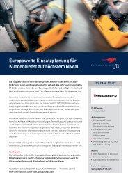 Europaweite Einsatzplanung für Kundendienst auf höchstem Niveau - FLS CASE STUDIES | JUNGHEINRICH