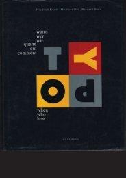 Entries on the work of Gerard Hadders in TYPO Wann Wer Wie? Friedrich Friedl, Nicolaus Ott, Bernard Stein