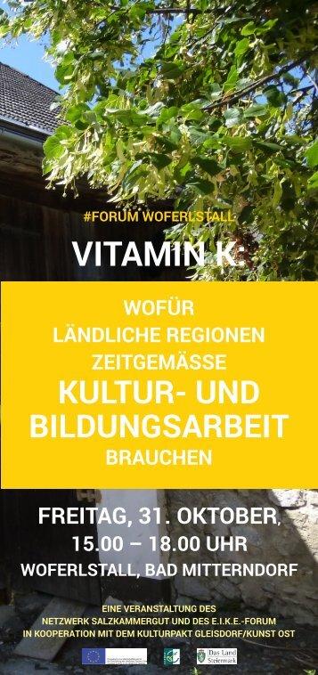 VITAMIN K: