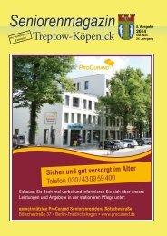 Seniorenmagazin Treptow-Köpenick - 5. Ausgabe 2014