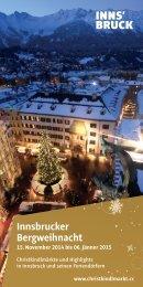 Innsbrucker Bergweihnacht